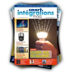 Smart Intégrations Mag, Audio, Vidéo, Sécurité, Smart Building et Réseaux – Abonnement magazine papier Nº 34
