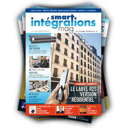 Smart Intégrations Mag, Audio, Vidéo, Sécurité, Smart Building et Réseaux – Abonnement magazine papier Num 37