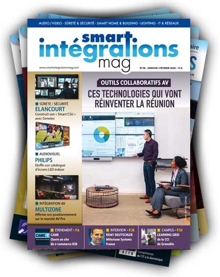 Smart Intégrations Mag, Audio, Vidéo, Sécurité, Smart Building et Réseaux – Abonnez-vous à notre magazine papier à partir du numéro 38
