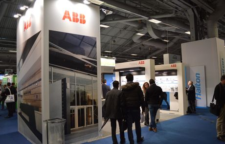 Smart Intégrations Mag, Audio, Vidéo, Sécurité, Smart Building et Réseaux - Stand ABB lors du salon IBS.