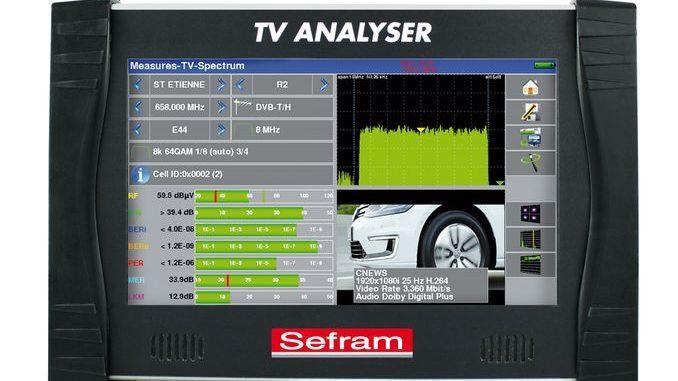 Smart Intégrations Mag, Audio, Vidéo, Sécurité, Smart Building et Réseaux – Mesureur de champ SEFRAM 7881