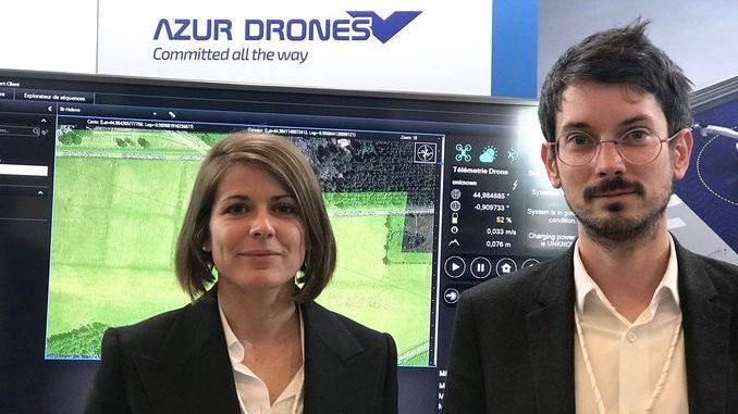 Smart Intégrations Mag, Audio, Vidéo, Sécurité, Smart Building et Réseaux-Daphné de Kerangal et Grégoire Thomas d'Azur Drones, pionnier français du drone de surveillance.