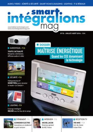 Smart Intégrations Mag, Audio, Vidéo, Sécurité, Smart Building et Réseaux – Magazine numéro 19