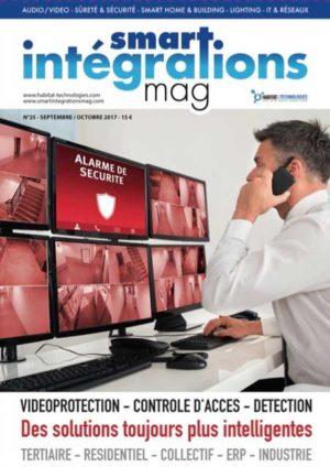 Smart Intégrations Mag, Audio, Vidéo, Sécurité, Smart Building et Réseaux – Magazine numéro 25