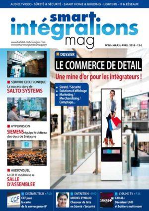 Smart Intégrations Mag, Audio, Vidéo, Sécurité, Smart Building et Réseaux – Magazine numéro 28