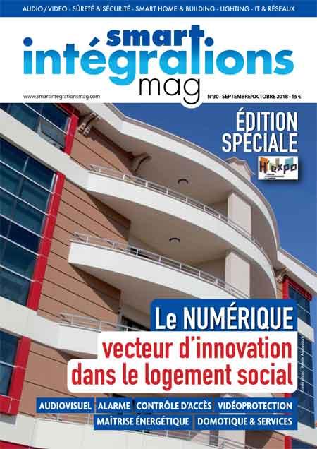 Smart Intégrations Mag, Audio, Vidéo, Sécurité, Smart Building et Réseaux – Magazine numéro 30