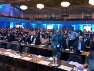 Smart Intégrations Mag, Audio, Vidéo, Sécurité, Smart Building et Réseaux -Séance plénière lors des MIPS 2019, Milestone, à Copenhaque, le 26 mars 2019