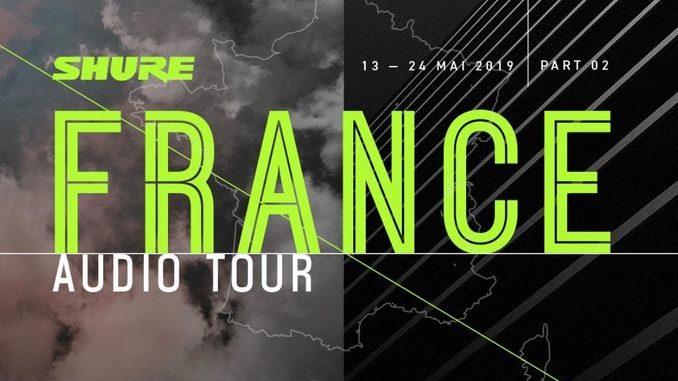 Smart Intégrations Mag, Audio, Vidéo, Sécurité, Smart Building et Réseaux - Shure France Audio Tour 2019