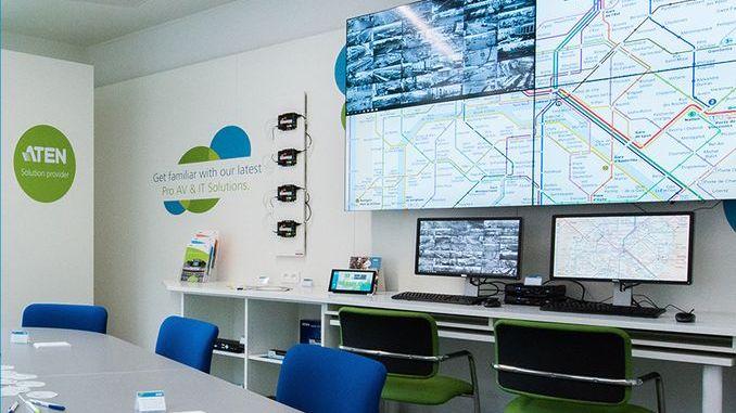 : Smart Intégrations Mag, Audio, Vidéo, Sécurité, Smart Building et Réseaux - Le nouveau Demo & Training Center parisien d'ATEN.