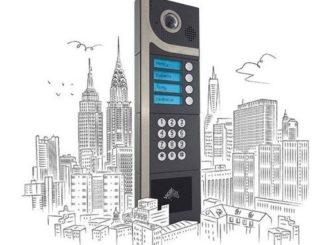 Smart Intégrations Mag, Audio, Vidéo, Sécurité, Smart Building et Réseaux - Premier interphone à boutons Intratone, marque de Cogelec.