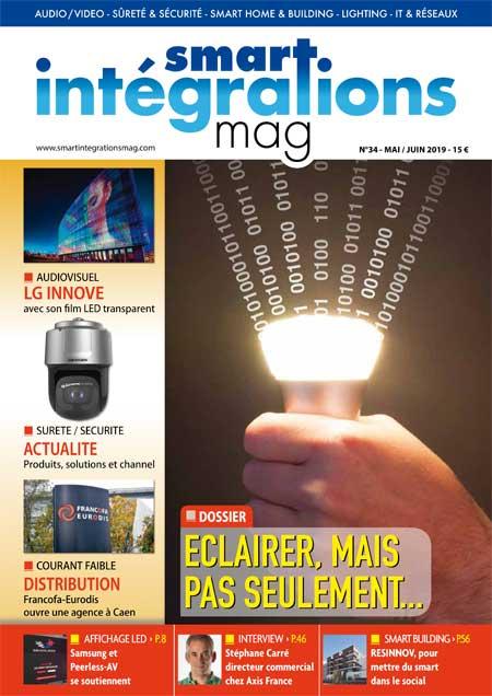 Smart Intégrations Mag, Audio, Vidéo, Sécurité, Smart Building et Réseaux – Magazine numéro 34