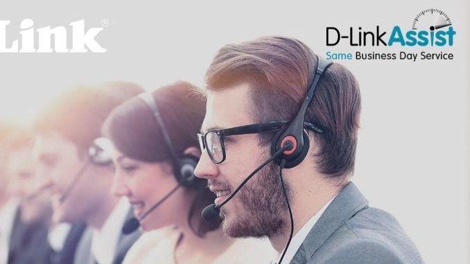 Smart Intégrations Mag, Audio, Vidéo, Sécurité, Smart Building et Réseaux – Visuel et logo du service D-LinkAssist de D-Link.