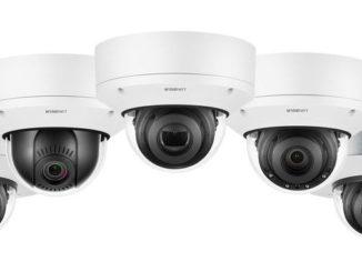 Smart Intégrations Mag, Audio, Vidéo, Sécurité, Smart Building et Réseaux – caméras dôme Wisenet X Plus.
