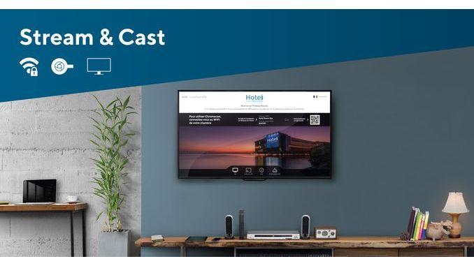 Smart Intégrations Mag, Audio, Vidéo, Sécurité, Smart Building et Réseaux - Stream&Cast de Wifirst pour l'hôtellerie