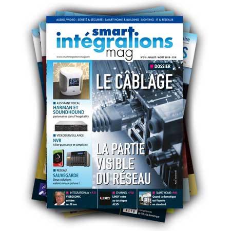 Smart Intégrations Mag, Audio, Vidéo, Sécurité, Smart Building et Réseaux – Abonnement magazine papier
