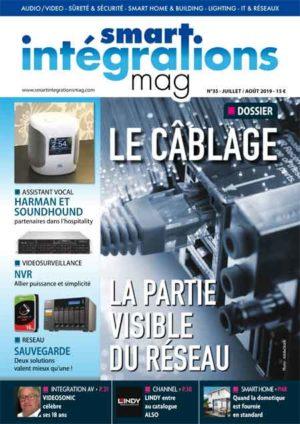 Smart Intégrations Mag, Audio, Vidéo, Sécurité, Smart Building et Réseaux – Magazine numéro 35