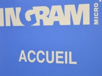 Logo Ingram Micro lors d'un showcase