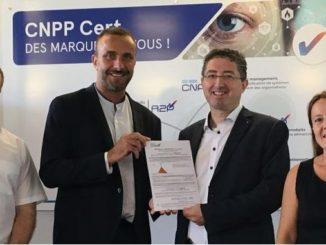 """Smart Intégrations Mag, Audio, Vidéo, Sécurité, Smart Building et Réseaux - Remise des certificats """"Cnpp certified"""" des caméras Mobotix en juin 2019."""