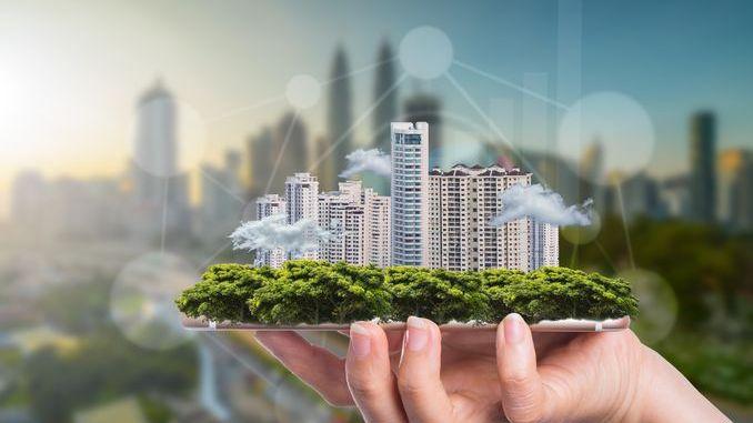 Smart Intégrations Mag, Audio, Vidéo, Sécurité, Smart Building et Réseaux - Illustration du concept de Smart City
