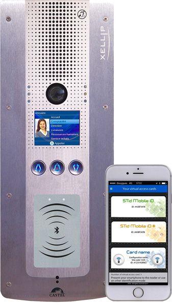 Smart Intégrations Mag, Audio, Vidéo, Sécurité, Smart Building et Réseaux – Interphone CASTEL Xellip IP de dernière génération intégrant un lecteur Bluetooth.