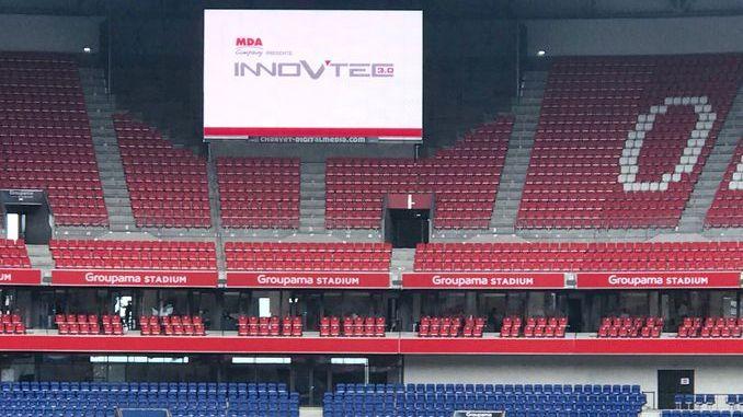 Smart Intégrations Mag, Audio, Vidéo, Sécurité, Smart Building et Réseaux – Groupama Stadium de Lyon, salon Innov'Tech 2018.