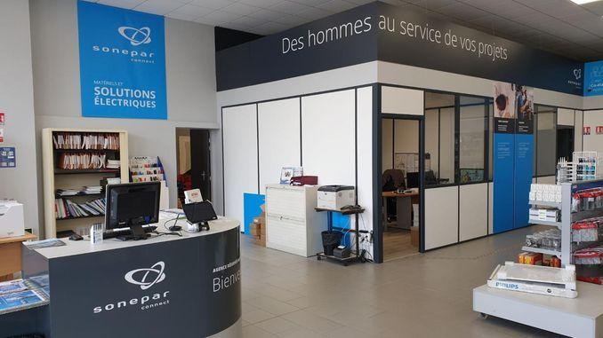 Smart Intégrations Mag, Audio, Vidéo, Sécurité, Smart Building et Réseaux – nouvelle agence aux couleurs Sonepar Connect à Autun, en Saône-et-Loire