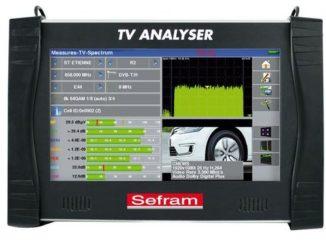Smart Intégrations Mag, Audio, Vidéo, Sécurité, Smart Building et Réseaux – Mesureur de champs SEFRAM 7885