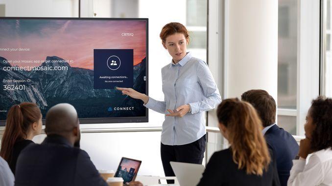 Smart Intégrations Mag, Audio, Vidéo, Sécurité, Smart Building et Réseaux – Ecran de collaboration NEC CB
