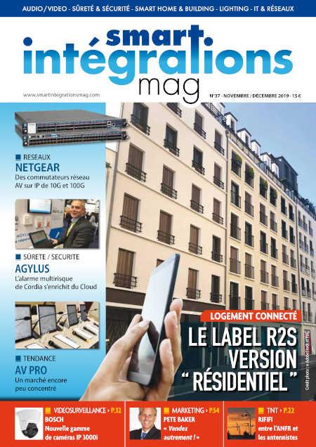 Smart Intégrations Mag, Audio, Vidéo, Sécurité, Smart Building et Réseaux – Magazine numéro 37