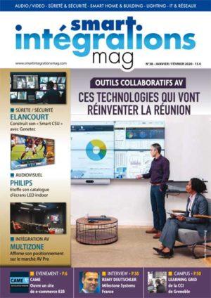 Smart Intégrations Mag, Audio, Vidéo, Sécurité, Smart Building et Réseaux – Magazine numéro 38