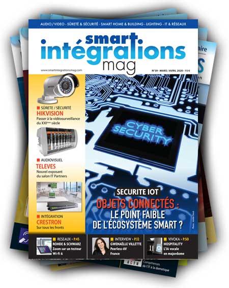 Smart Intégrations Mag, Audio, Vidéo, Sécurité, Smart Building et Réseaux – Abonnez-vous à notre magazine papier à partir du numéro 39