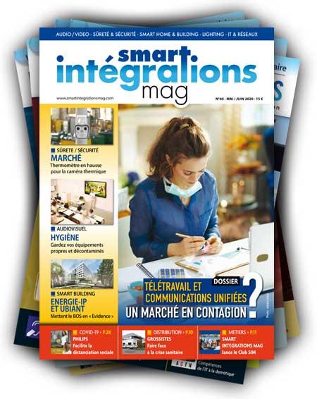 Smart Intégrations Mag, Audio, Vidéo, Sécurité, Smart Building et Réseaux – Abonnez-vous à notre magazine papier à partir du numéro 40