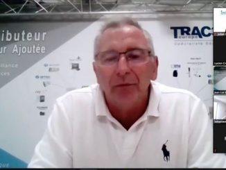 Magazine Smart Integration Mag - Jean-Luc Dupont, directeur commercial chez Tracor Europe, lors de la réunion du Club SIM du 2 juin 2020. Capture d'écran