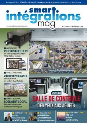 Smart Intégrations Mag, Audio, Vidéo, Sécurité, Smart Building et Réseaux – Magazine numéro 41 dossier télétravail