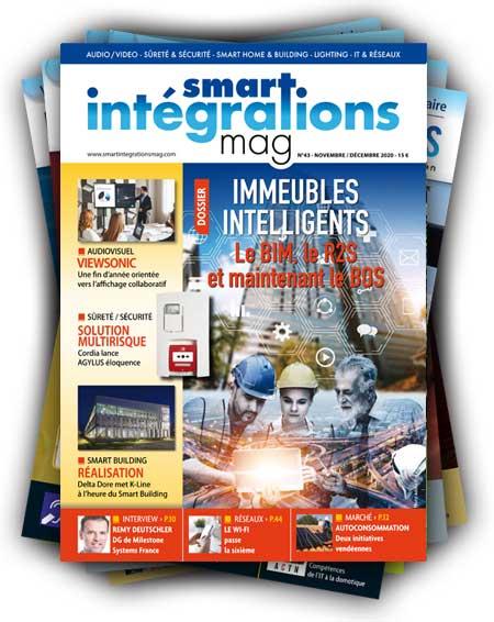 Smart Intégrations Mag, Audio, Vidéo, Sécurité, Smart Building et Réseaux – Abonnez-vous au magazine des professionnels de l'intégration