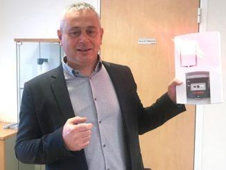 Enzo Mora, directeur des opérations chez Cordia est l'un des principaux artisans du projet AGYLUS. Photo SIM bénédicte ribeiro