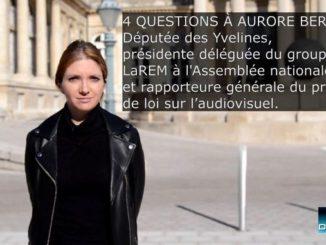 La députée Aurore Berger à l'Assemblée nationale, Paris le 26 octobre 2020.