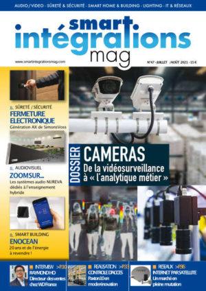 """Smart Intégrations Mag, Audio, Vidéo, Sécurité, Smart Building et Réseaux – Magazine numéro 47 dossier """"De la vidéosurveillance à l'analytique métier"""""""